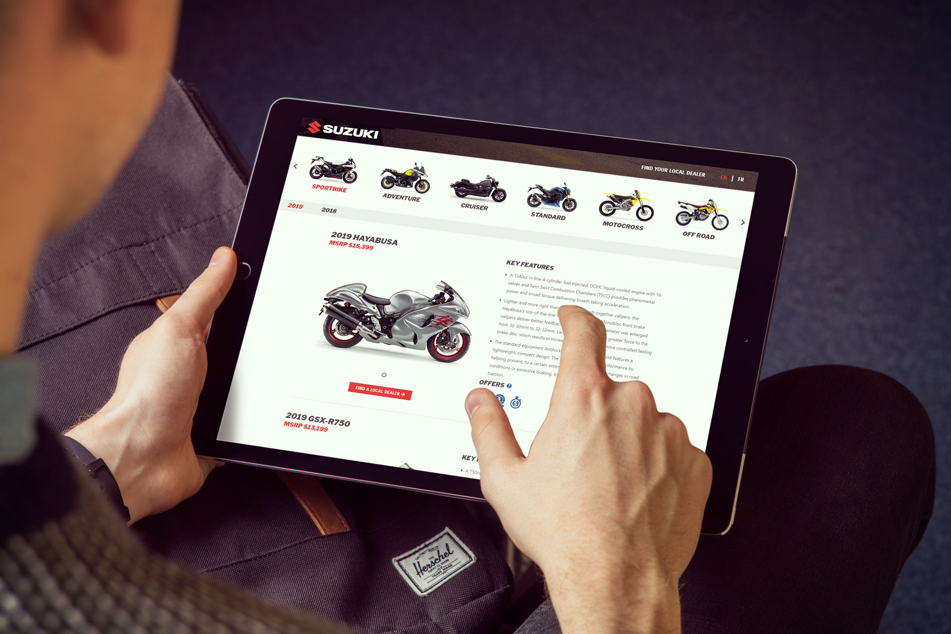 Suzuki Canada Website