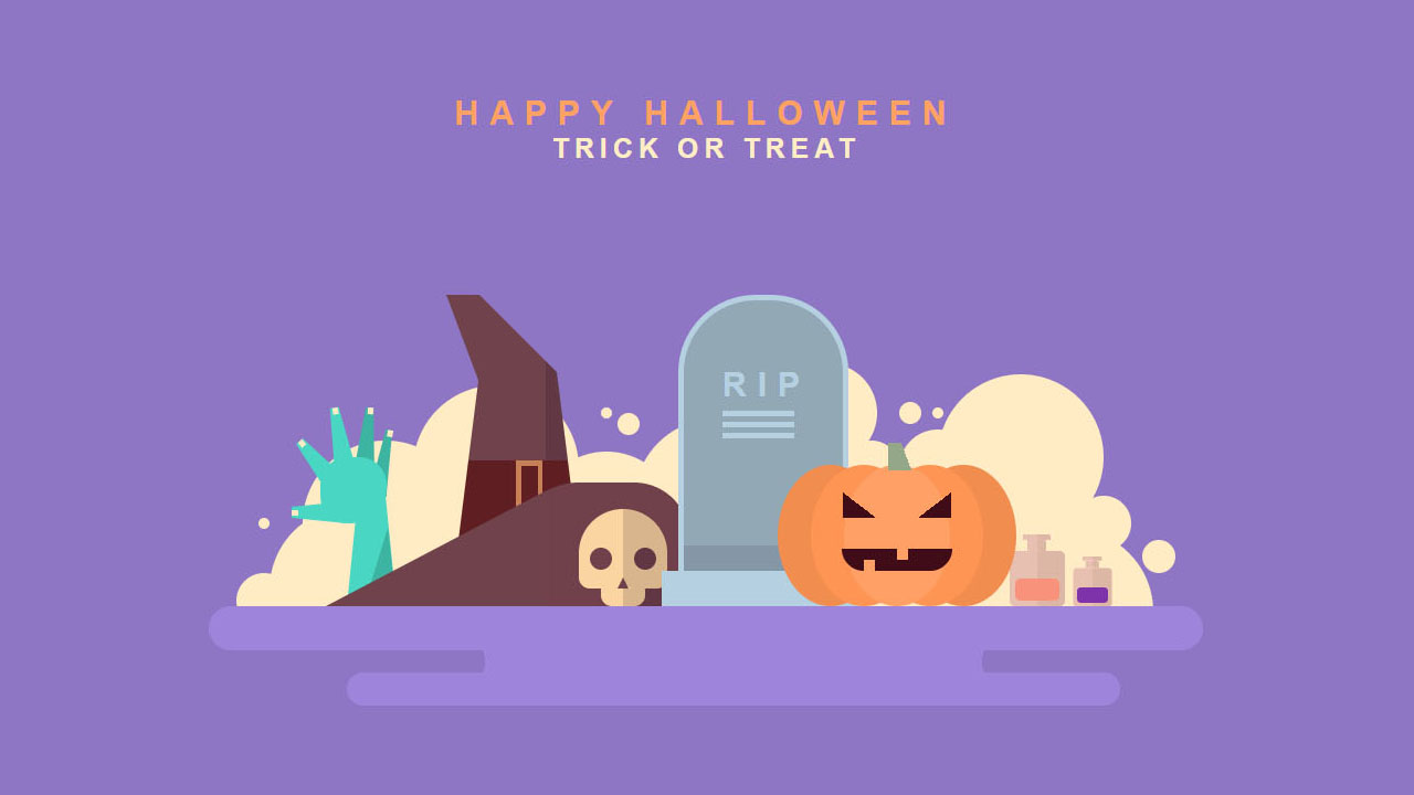 Feature Code: CSS Halloween decorations
